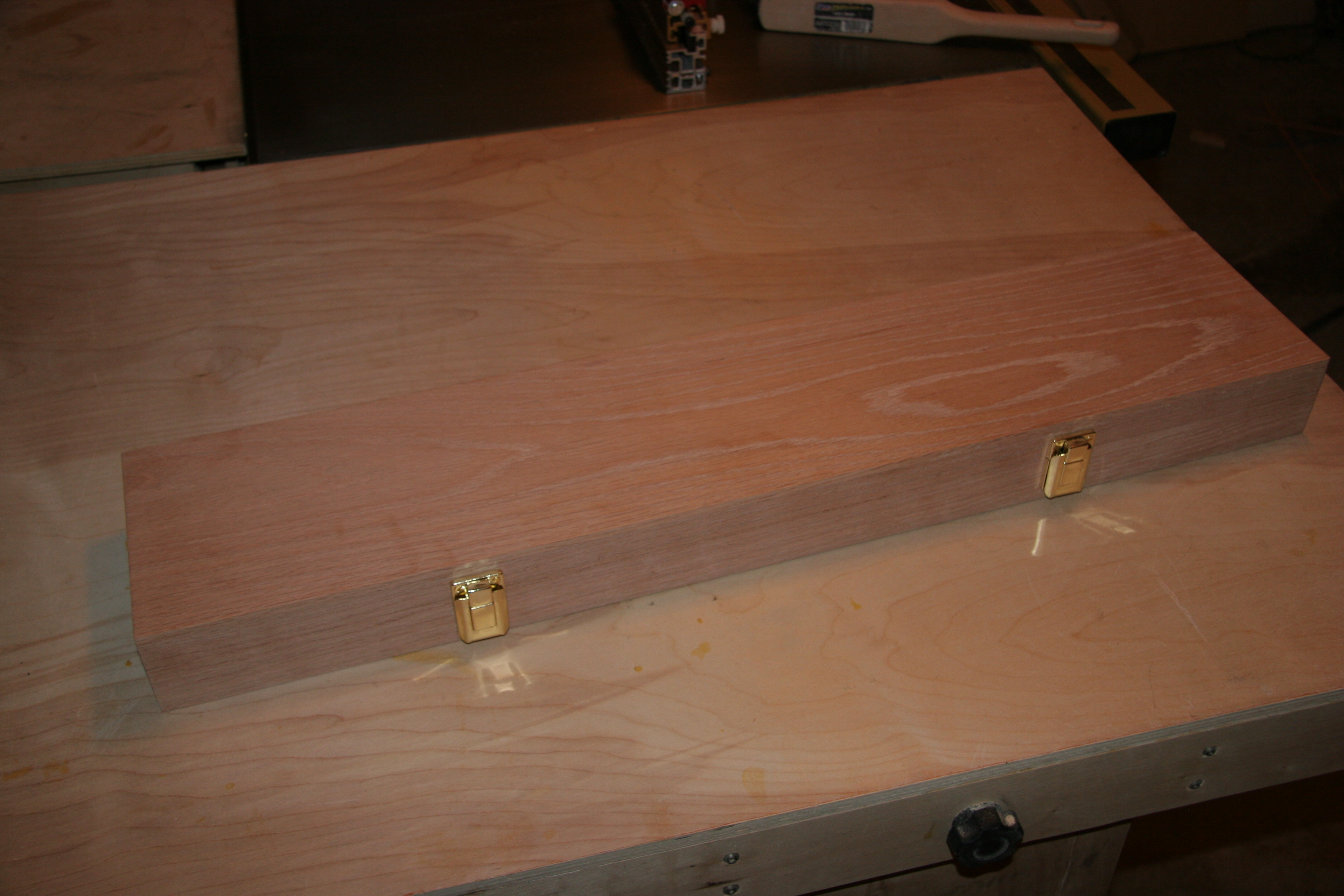 Wood Box for Veritas Shelf Pin Drilling Jig   Pocket Holes \'n Biscuits
